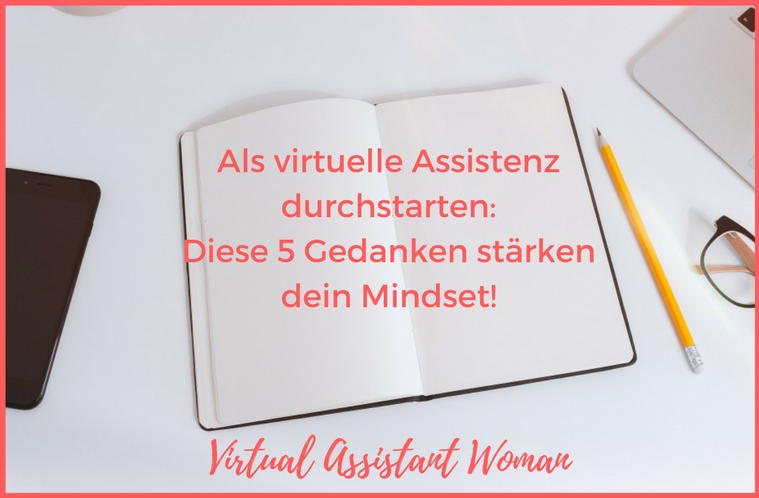 mindset virtuelle assistentin