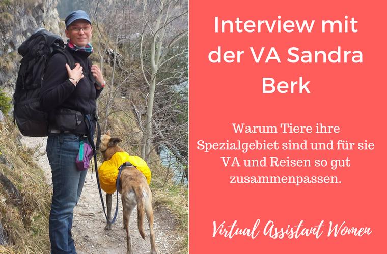 interview virtuelle assistentin sandra berk