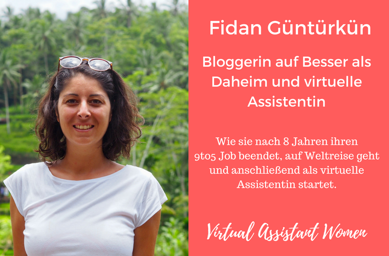 virtuelle assistentin fidan housesitting