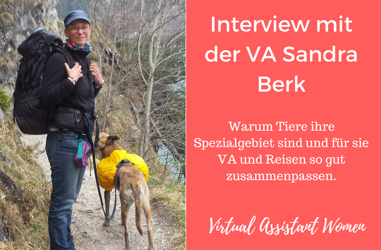 interview virtuelle assistentin sandra berk
