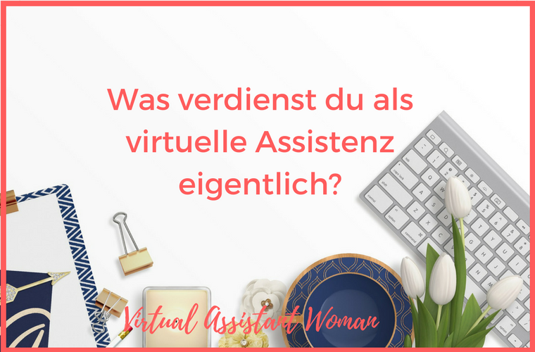 verdienst virtuelle assistenten