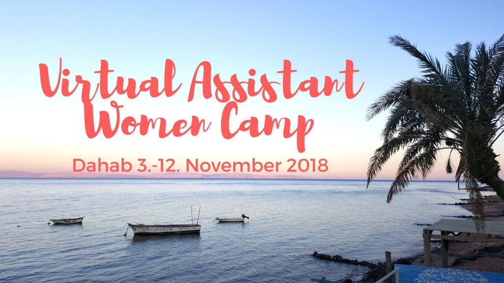 virtual assistant women camp