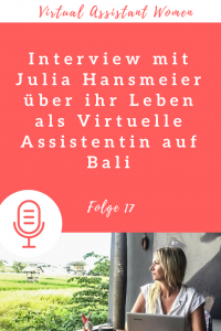 Podcast Virtuelle Assistenz Julia Hansmeier