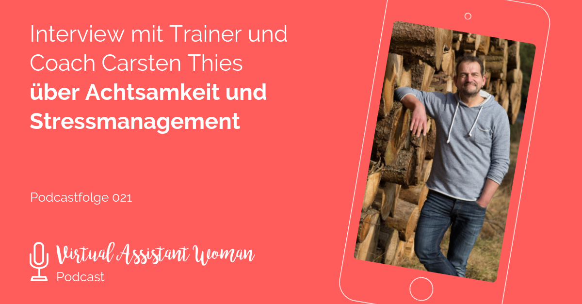 stressmanagement virtuelle assistenz
