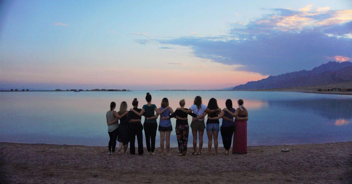 VAW Camp 2018 Blue Lagoon Sonnenuntergang