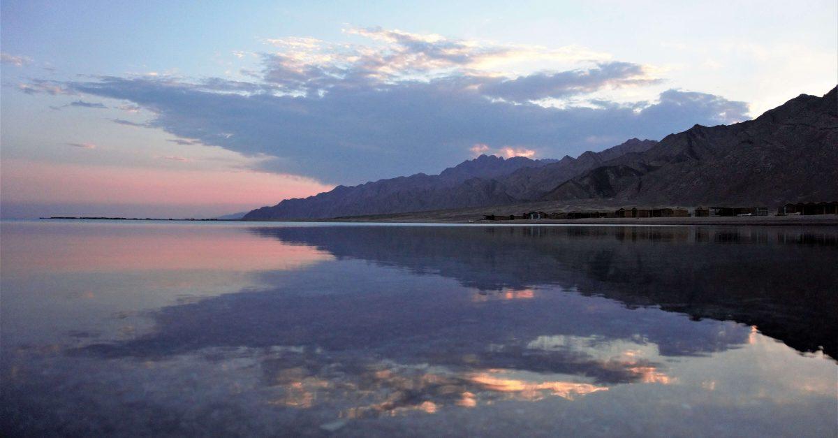 Blue Lagoon Sonnenuntergang vaw camp 2018