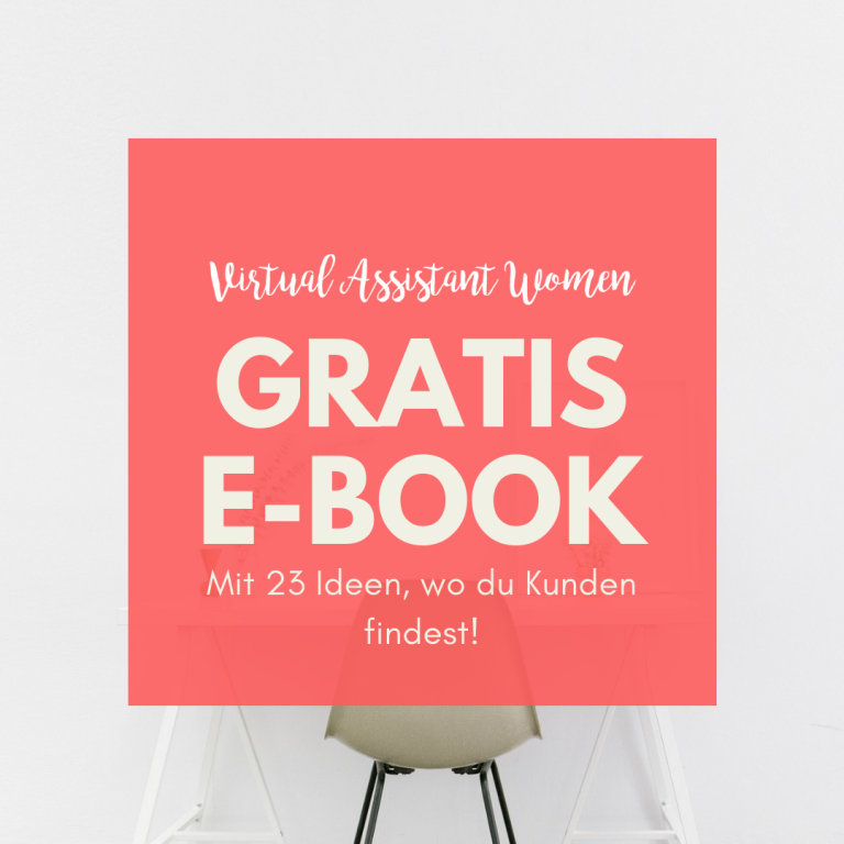 E-Book Kundenakquise virtuelle assistenz
