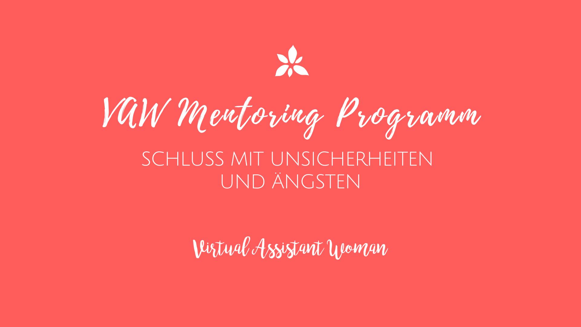 virtuelle assistentin mentoring Programm
