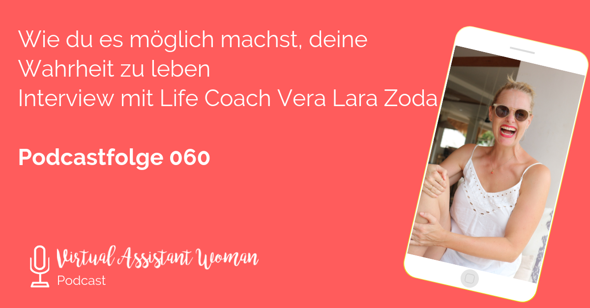 virtuelle Assistentin Lifecoach