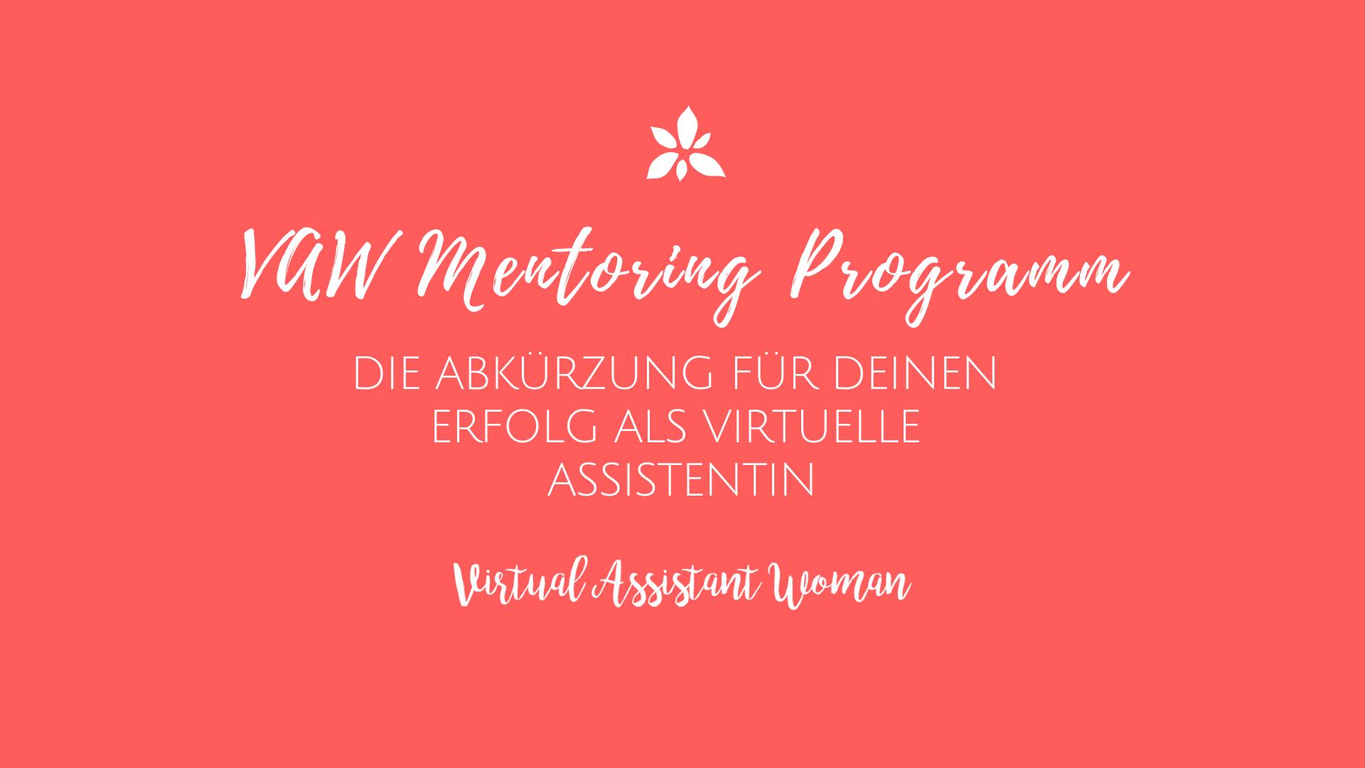 virtuelle assistenz mentoring programm