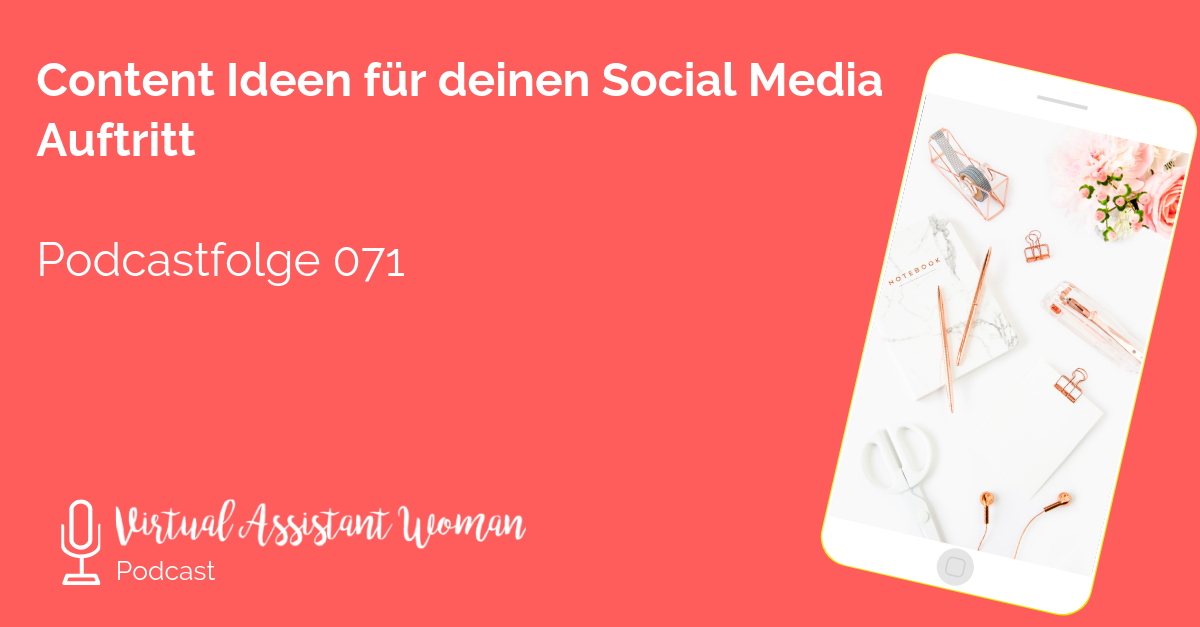 virtuelle assistenz social media