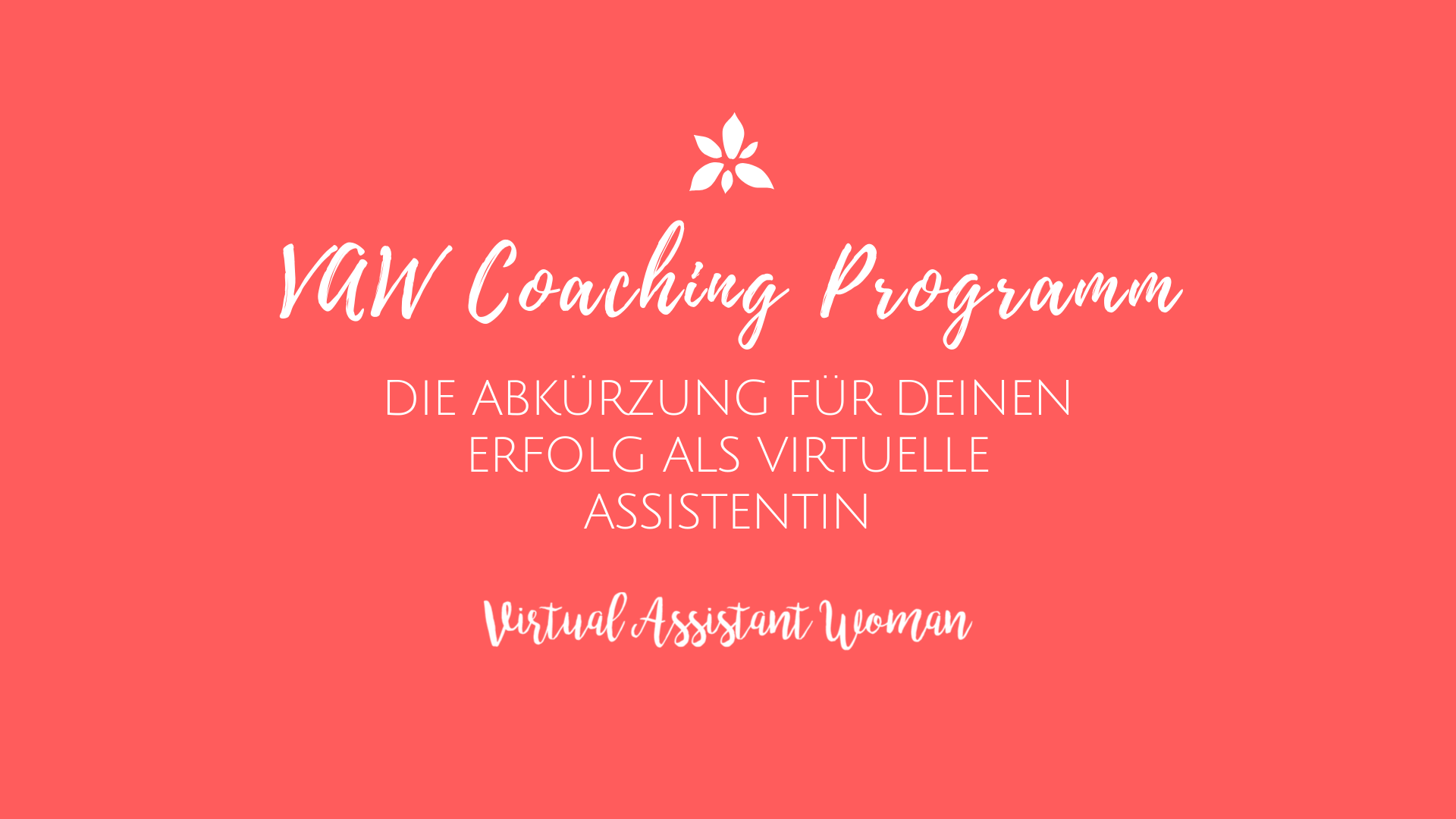 virtuelle assistenz coaching