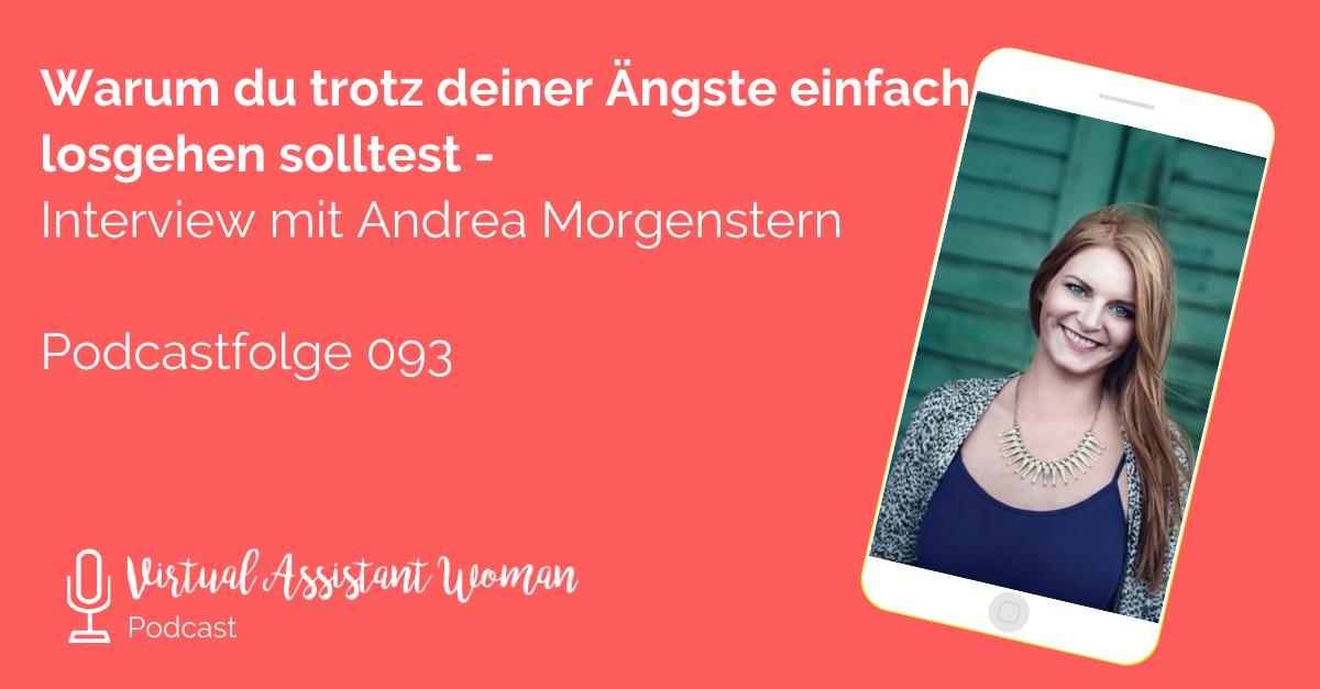 Ängste vor Selbstständigkeit - Interview mit Andrea Morgenstern