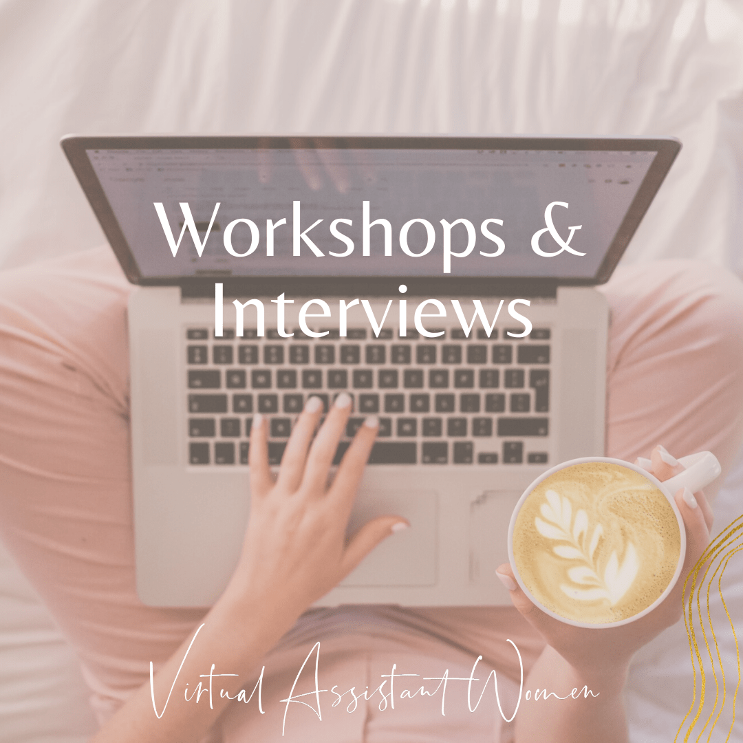 virtuelle assistenz workshops