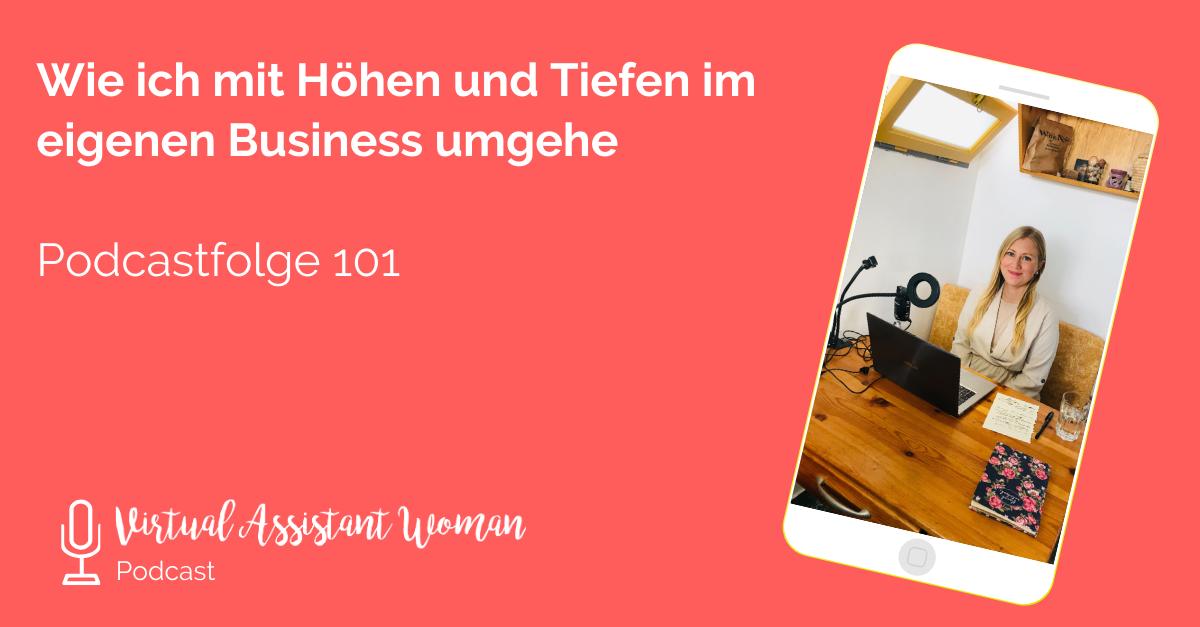 Höhen und Tiefen im Business - Virtual Assistant Women