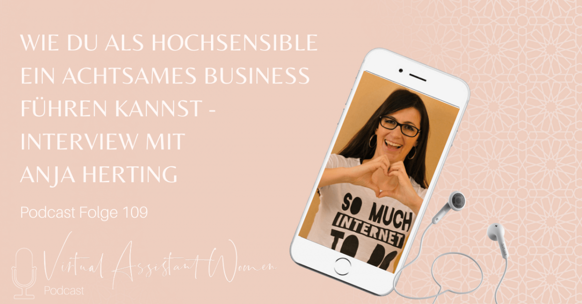 Achtsames Business - Interview mit Anja Herting