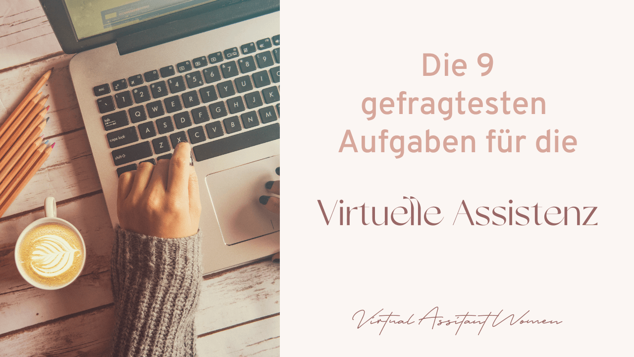 Virtuelle Assistenz Aufgaben