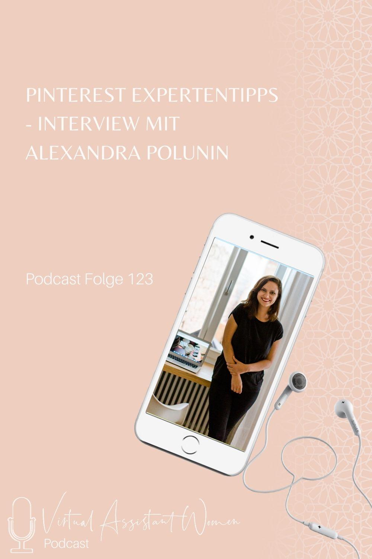 Pinterest Expertentipps Alexandra Polunin